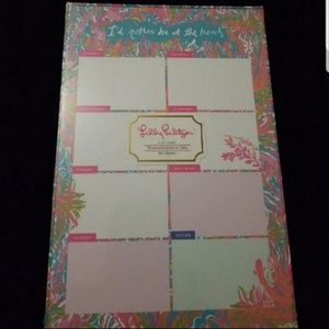 Lilly Pulitzer List Pad